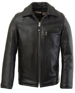 135 - Casual Weekend Pebbled Cowhide Leather Jacket (Black)