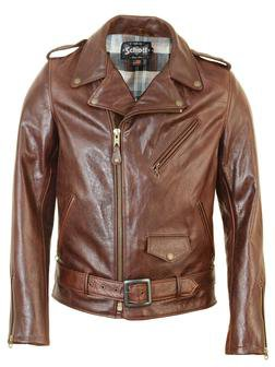 Schott 626 Brown Leather Jacket