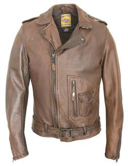 629 - Vintaged D-Pocket Perfecto - Limited Sizes (Brown)
