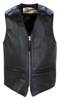693V - Men's Genuine Steerhide Leather Vest