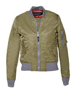 Khaki Women's Flight Jacket