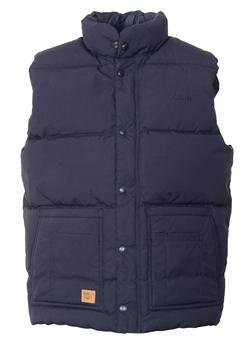 9356DV - Down Filled Vest with Patch Pockets (Navy)