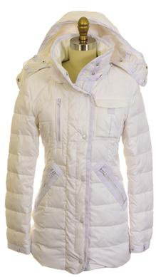 9392DW - Women's Down Filled Foul Weather Parka (White)