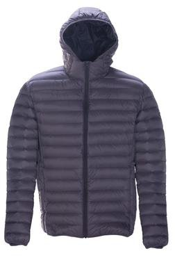 Slate Nylon Down Jacket