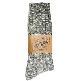 AIS2 - Slub crew sock (Grey)