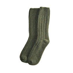 Olive Wool Socks