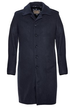 C729NE - Wool Officer's Trenchcoat