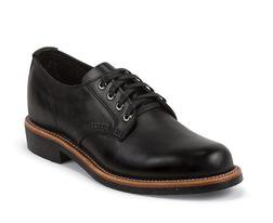"M73BW - Chippewa 4"" Black Service Oxford Shoe (Black)"