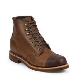 "M54TR - Chippewa Two Tone 6"" Tan Renegade / Cordovan Homestead Boot"