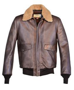 594 - Cowhide Bomber Jacket