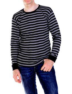 K501 - Men's Cotton Crewneck Shirt (Black)
