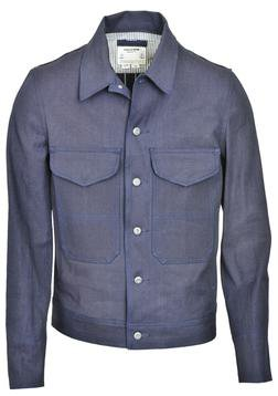 "P8430 - ""JP Jones"" Deck Work Jacket (Indigo)"