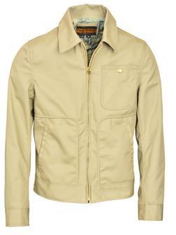 "P8460 - ""Jobber"" Civilian Coast Guard Work Jacket (Limestone)"