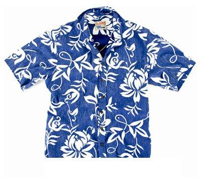 RS808 - Classic Pareau Reyn Spooner Shirt (Blue)