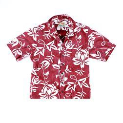 RS808 - Classic Pareau Reyn Spooner Shirt (Red)