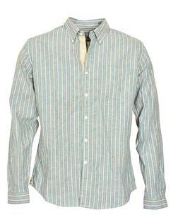 SH1423 - Slub Weave Striped Shirt (Blue)