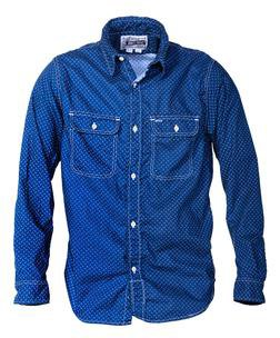 SH1501 - 100% Cotton Work Shirt (Blue)
