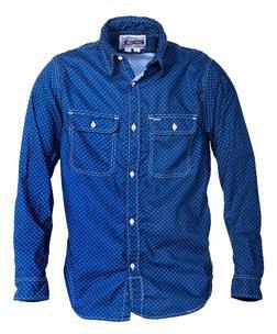 SH1501 - 100% Cotton Work Shirt (Blue)