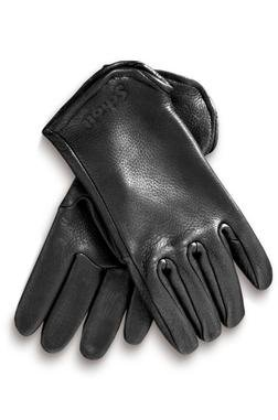 A102 - Deerskin Leather Gloves (Black)