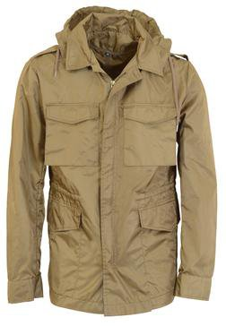 91351 - Flight Satin M-51 Field Jacket - Big Sizes Only (Brown)