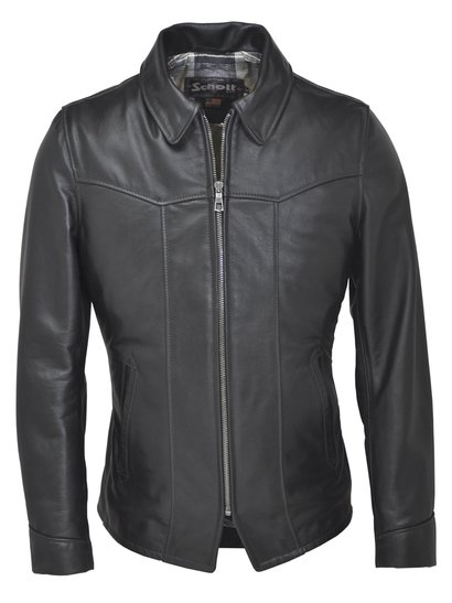 662 - Cowhide Fitted Retro Jacket - Limited Sizes