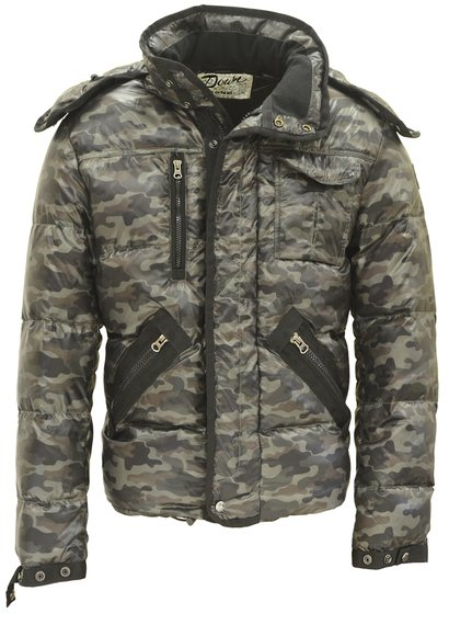 9137D - Nylon Down Fill Technical Foul Weather Jacket