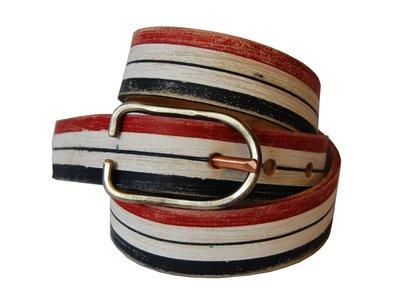 BELT1 - Hand Worked Veg Tanned Horween Leather Belt