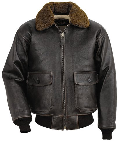 Leather Flight Jacket